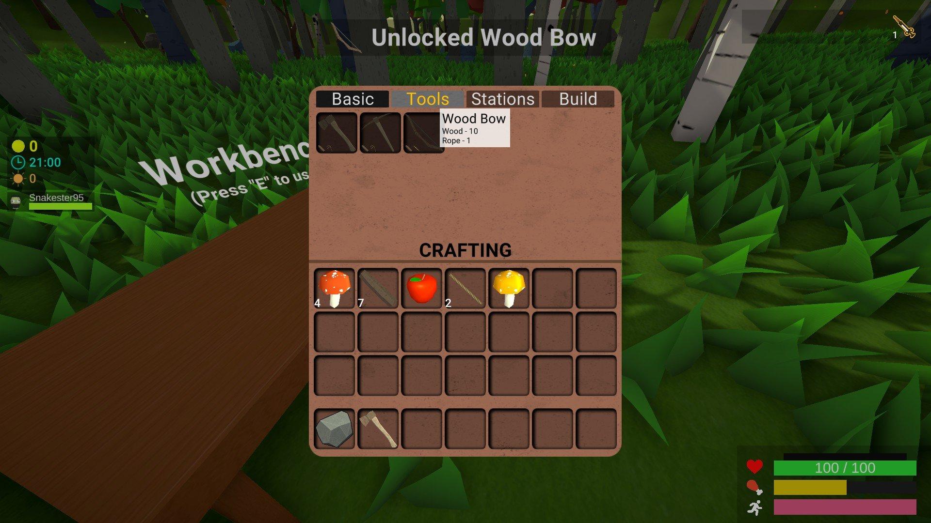 Muck - Bow Recipe Screenshot
