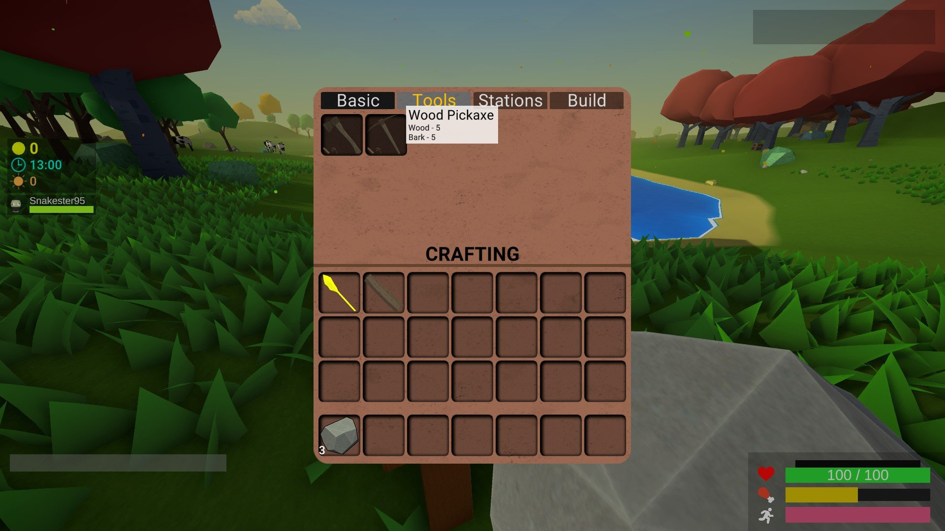 Muck - How to Craft Tools