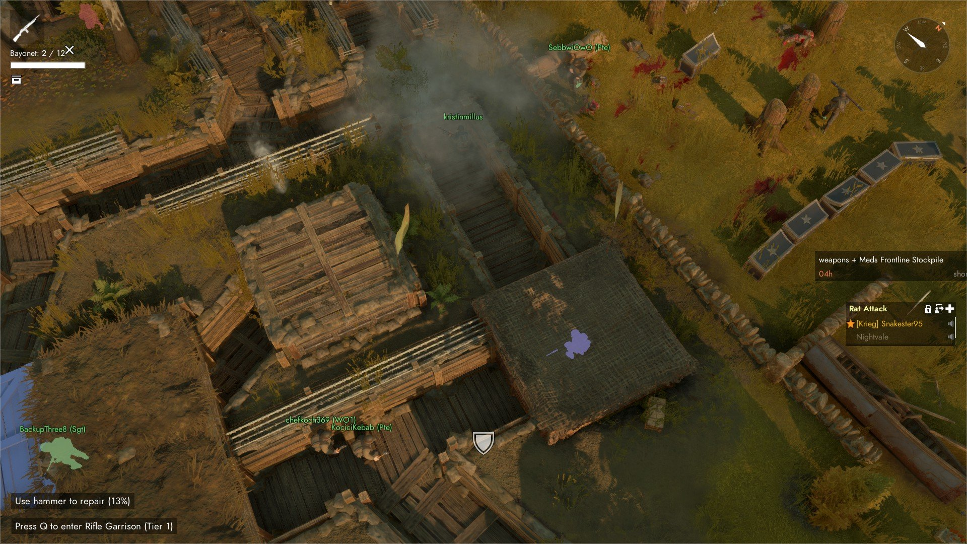 Foxhole - Bayonet Trenches Screenshot