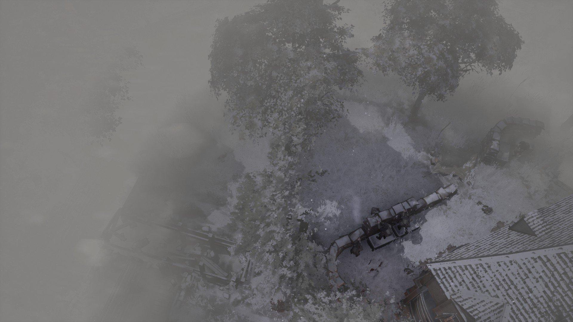 Foxhole - Snow Weather Screenshot