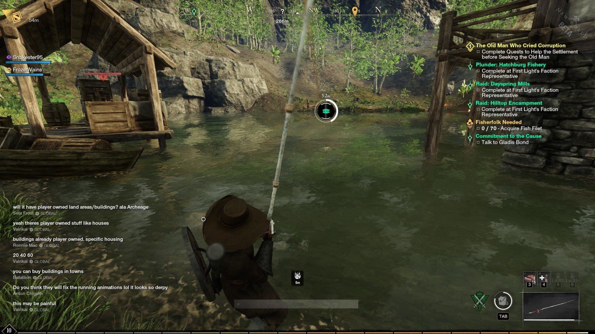 New World - Fishing Mini-game Screenshot