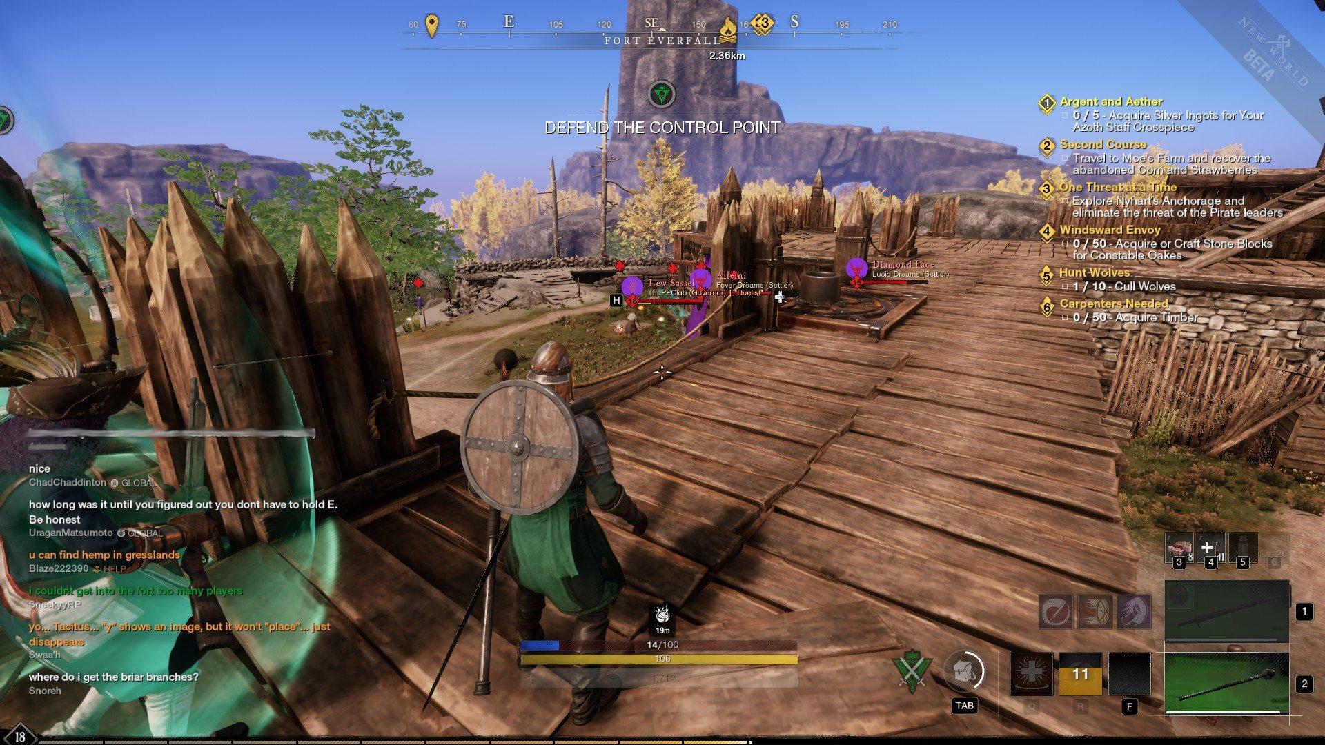 New World - PvP Fort Screenshot