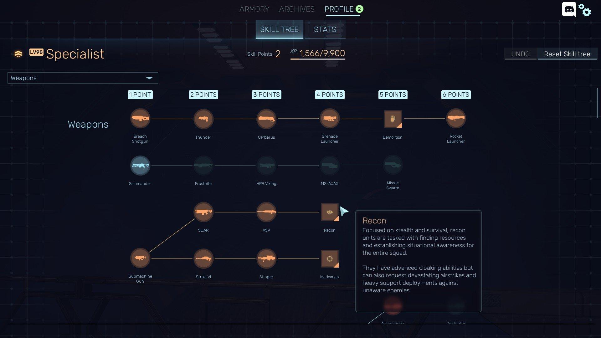 Red Solstice 2 - Unlock Classes Skirmish