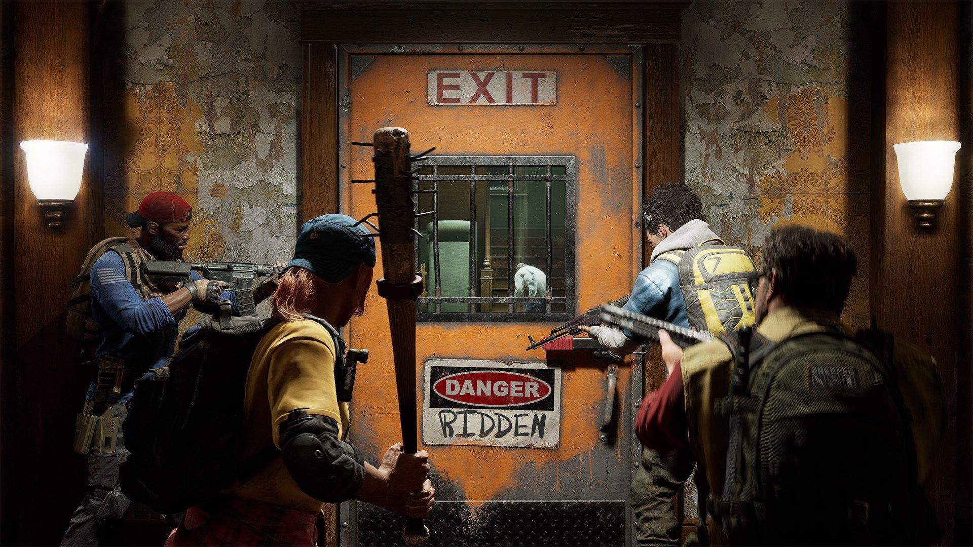 Back 4 Blood - Safe Room Screenshot