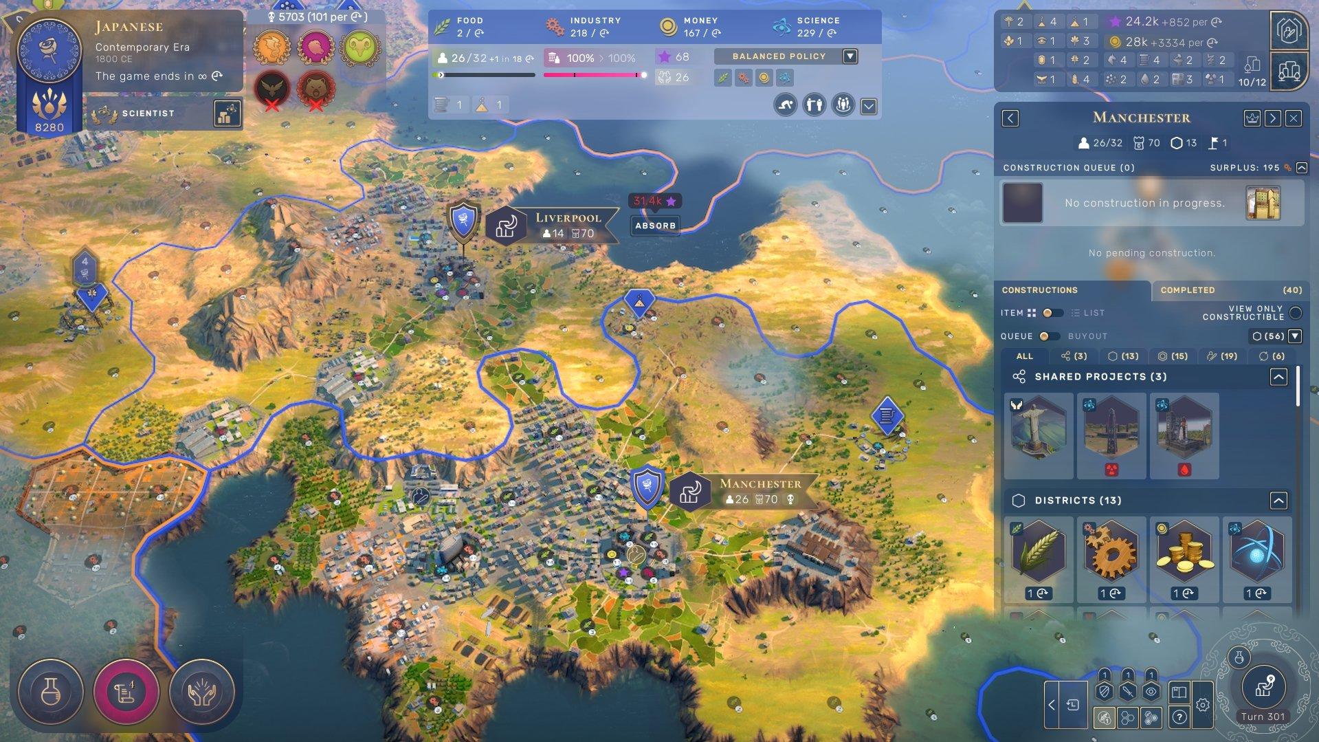Humankind - Absorb City Screenshot