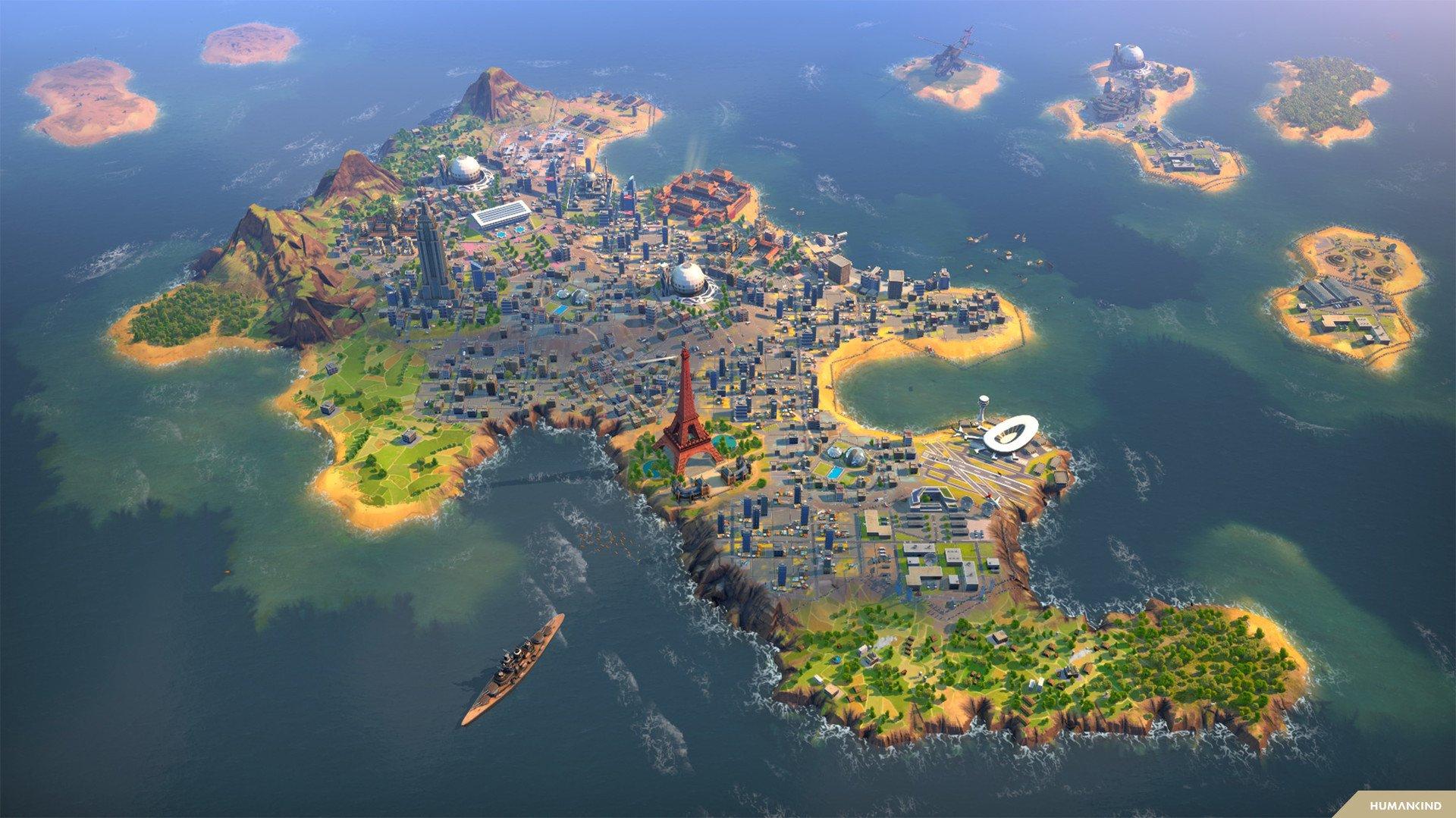 Humankind City Island Screenshot