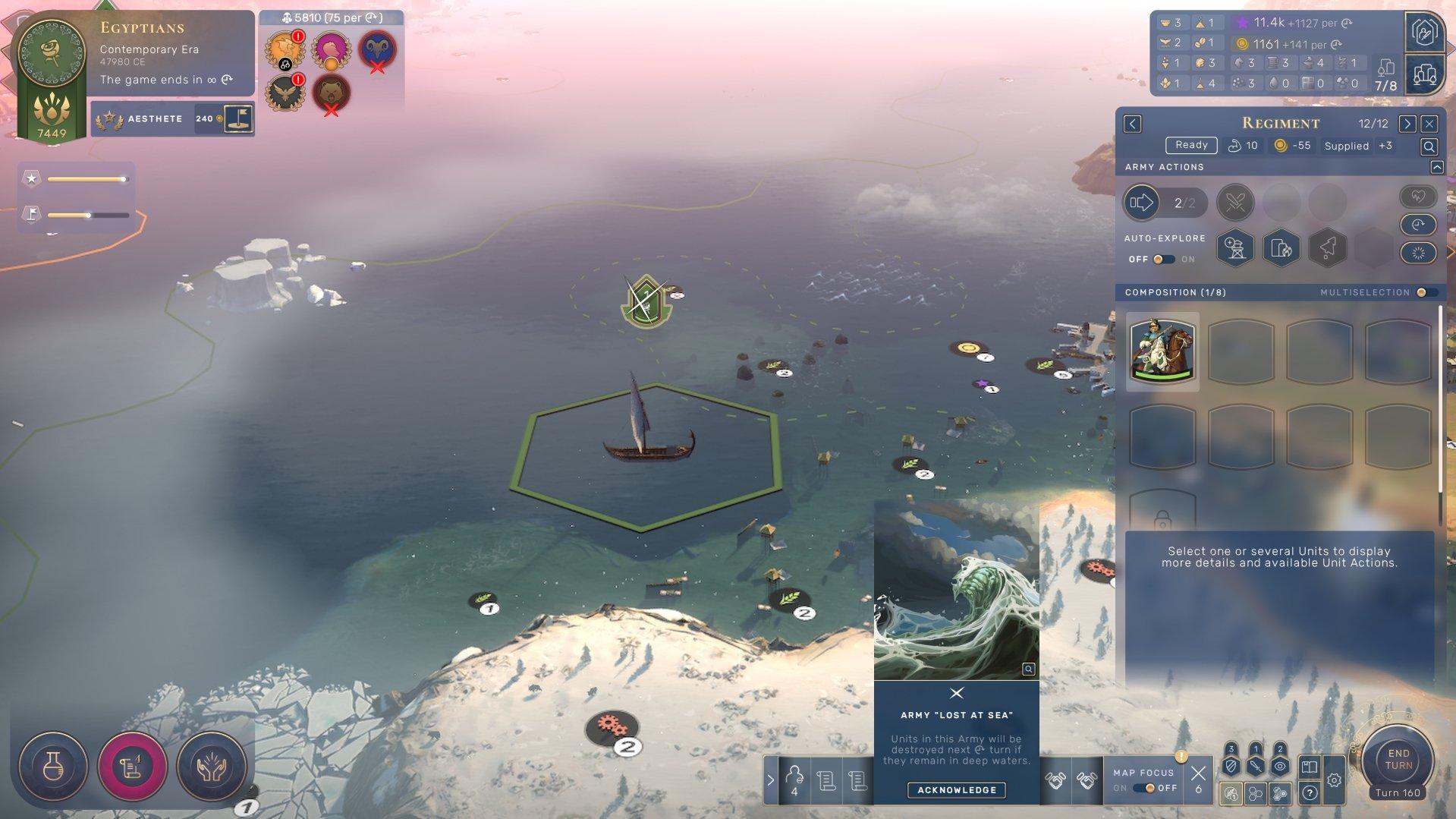 Humankind - Lost at Sea Alert