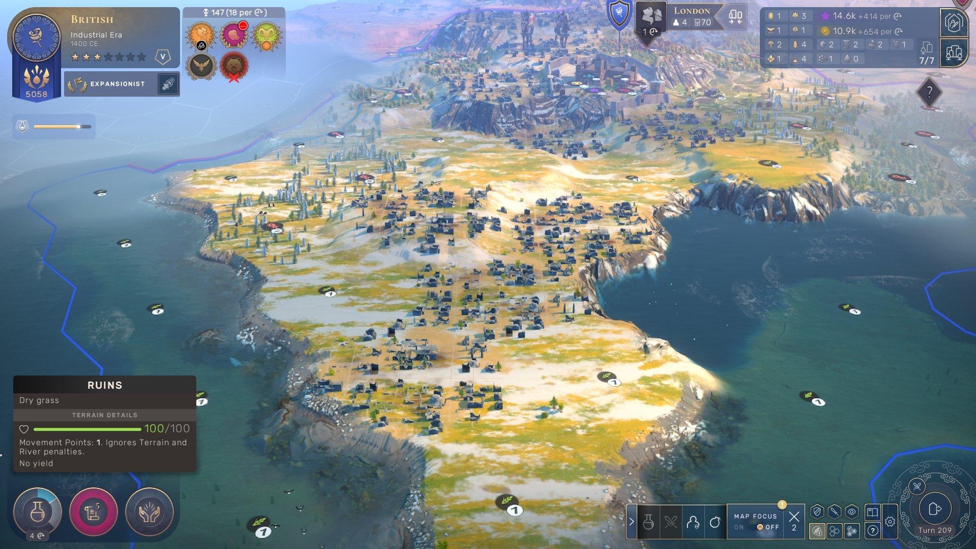 Humankind - Ruins Tiles Screenshot