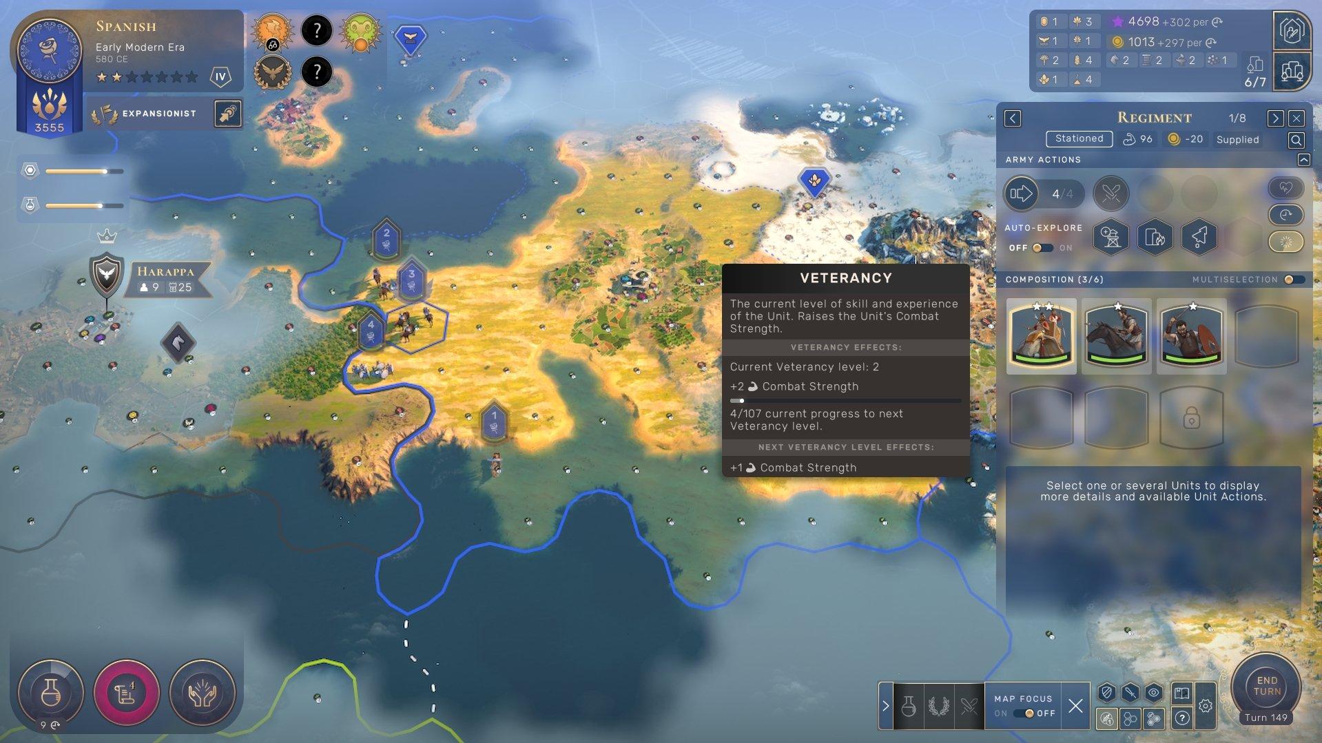 Humankind - Veterancy Levels Screenshot
