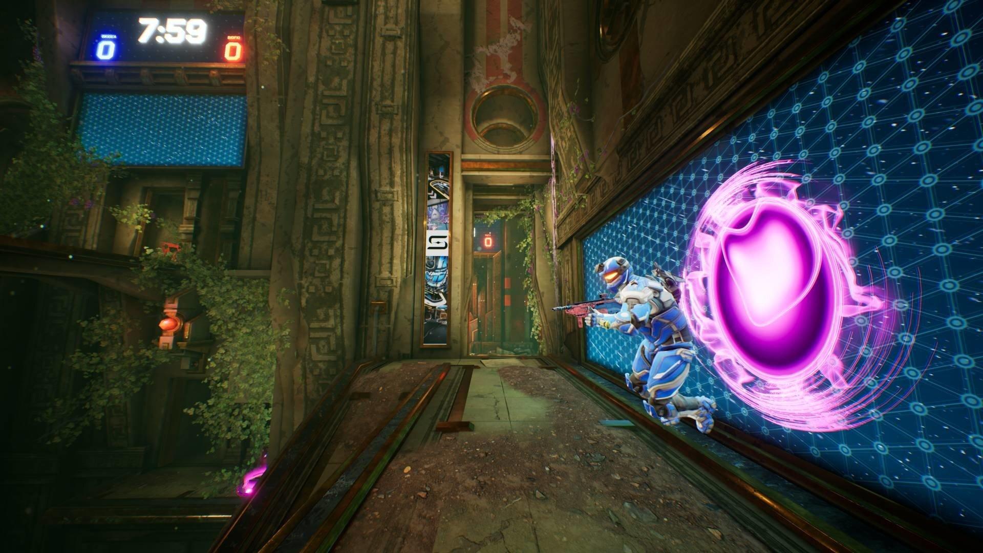 Splitgate - Purple Portal Screenshot
