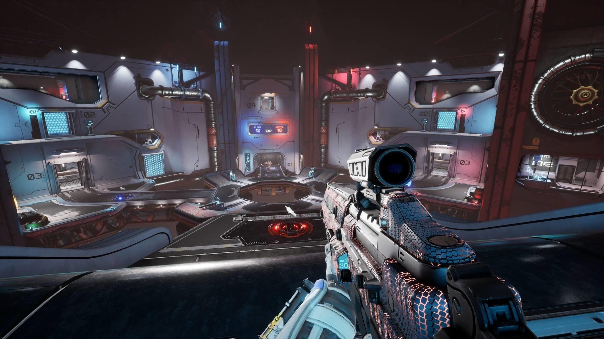 Splitgate - Ranked Bots Screenshot