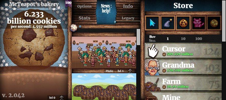 Cookie Clicker - Cookie-Dunker Achievement Screenshot