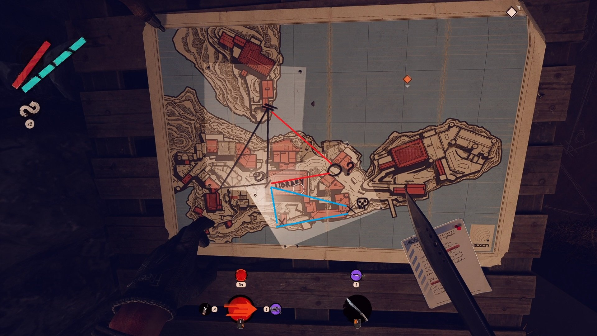 Deathloop - Cave Safe With Maps Drawn