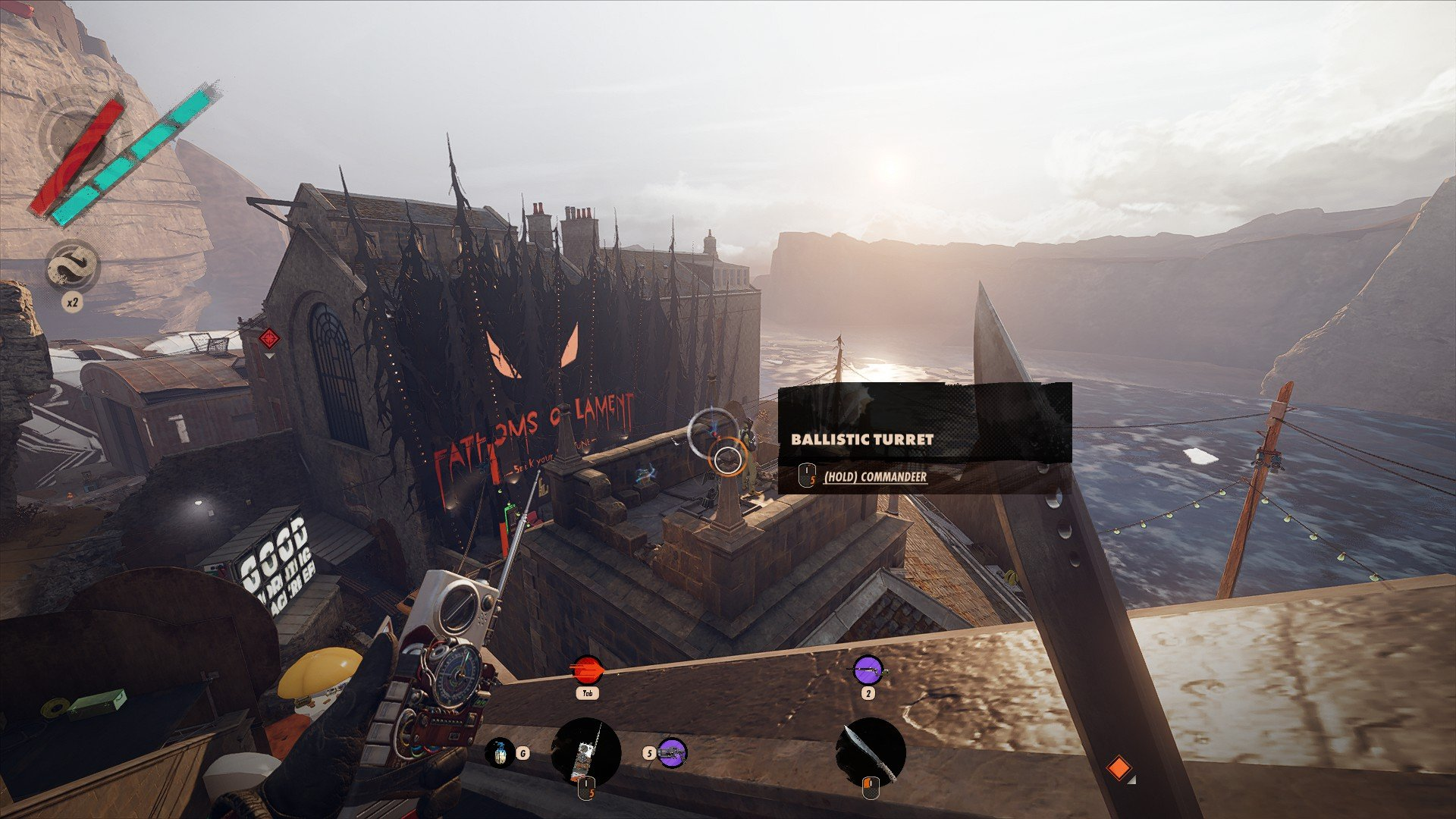 Deathloop - Hacking Turrets Screenshot