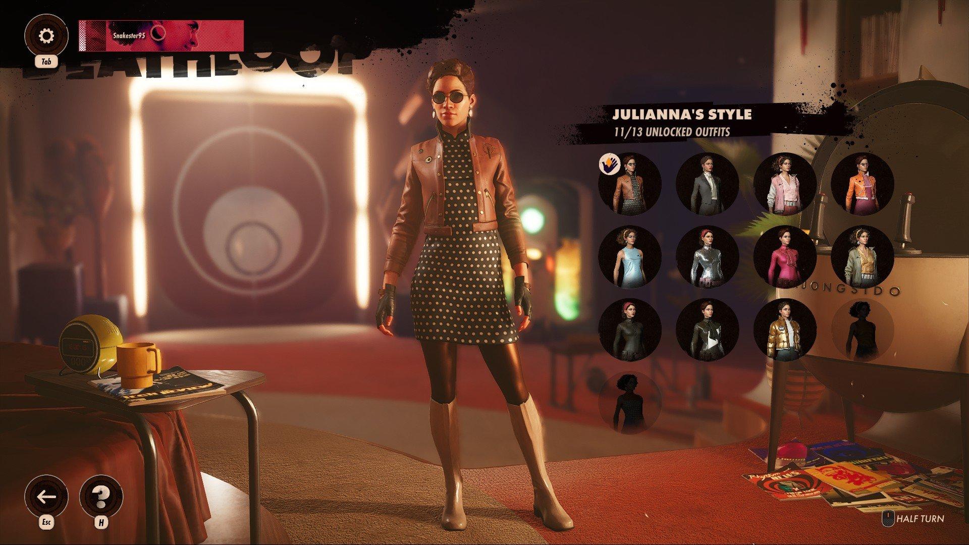 Deathloop - Julianna Outfits Screenshot