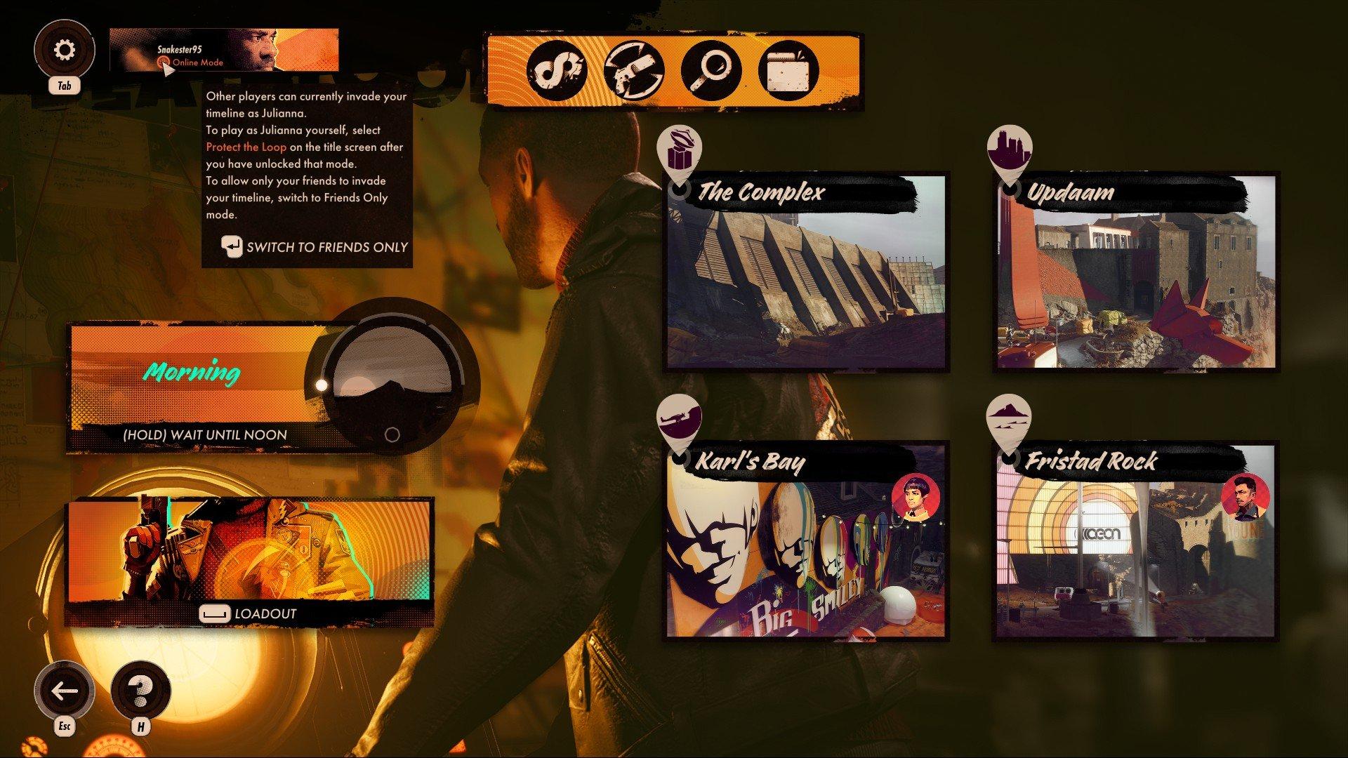 Deathloop - Online Mode Screenshot