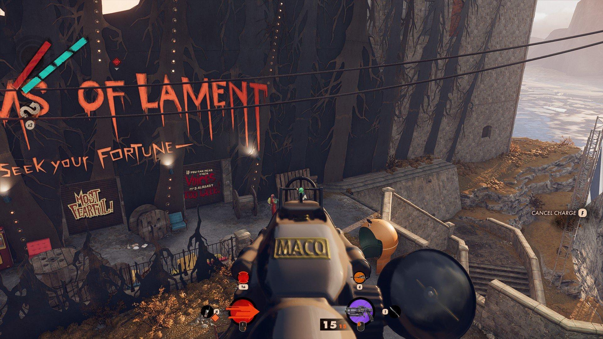 Deathloop - Quiet Nail Gun Screenshot