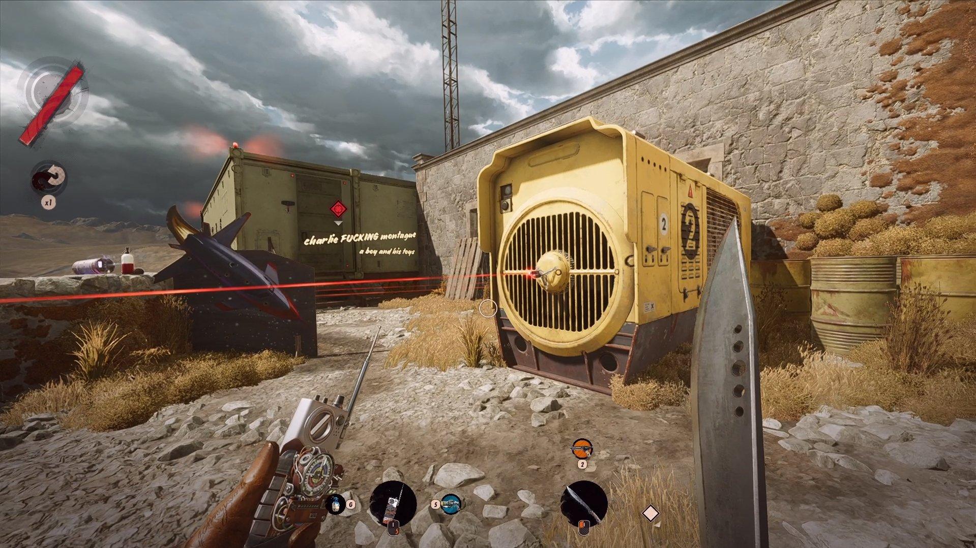 Deathloop - Where is Charlie Screenshot