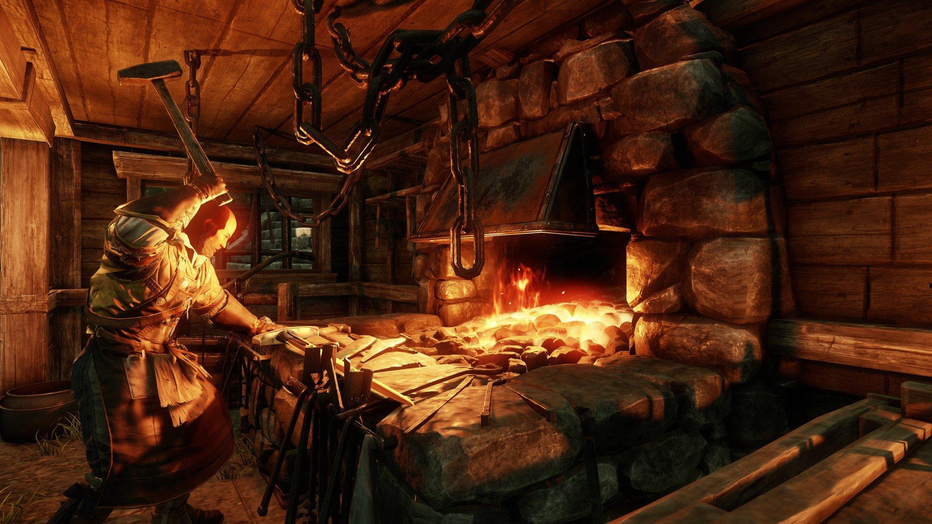 New World - Blacksmith Forge Screenshot