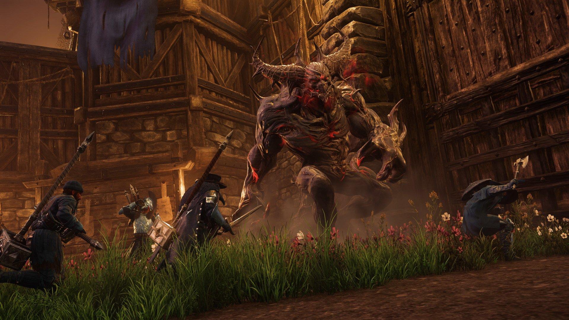 New World - Invasion Demon Creature Screenshot