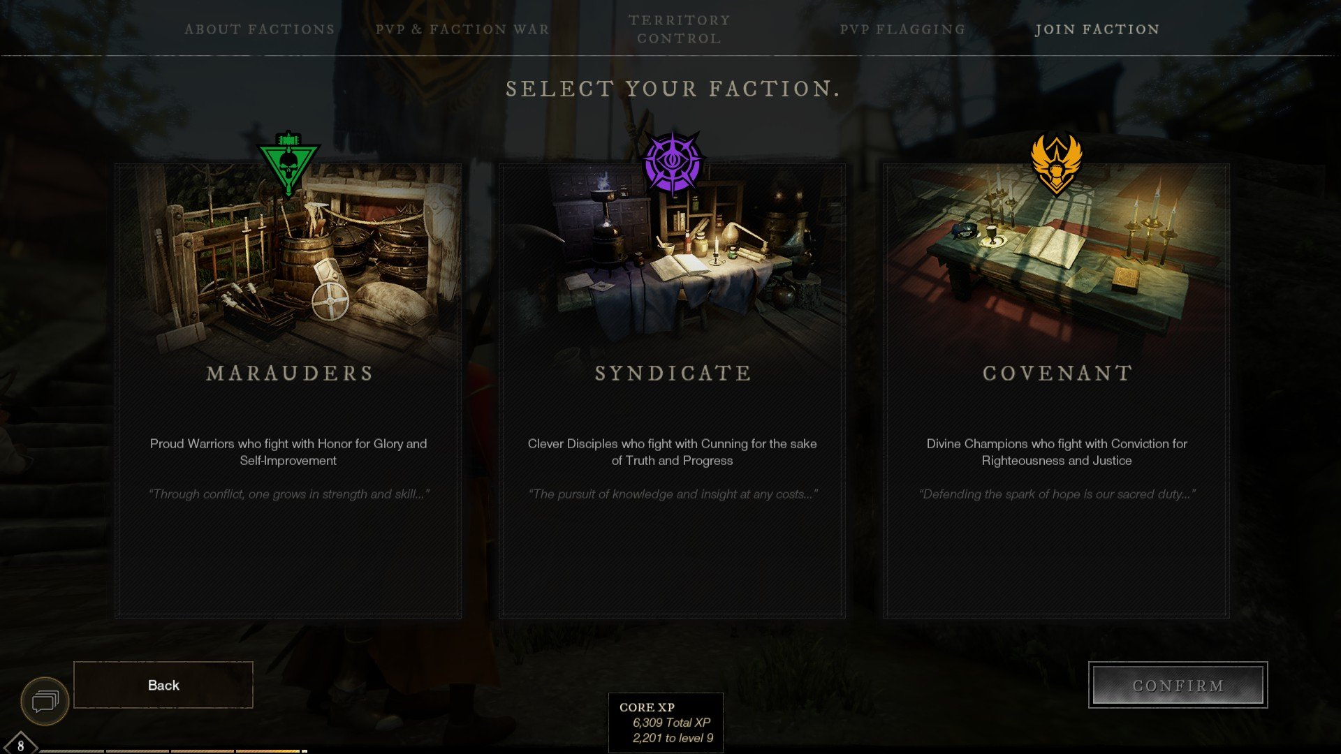 New World - What Faction to Choose